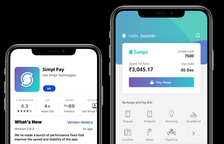 Simpl app store download